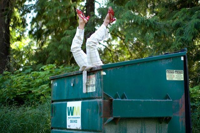 on dumpster divin1